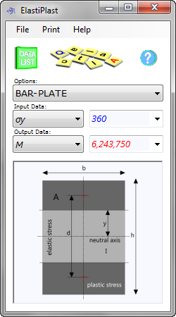 The pipe flow calculator is used to calculate the bending moments required to generate plastic deformation in metal beams